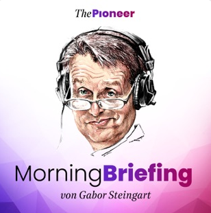Gabor Steingart als Cartoon auf dem Cover