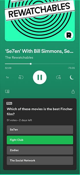 Spotify Umfrage Tool