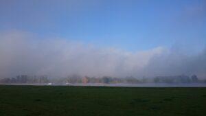 Nebel am Rhein
